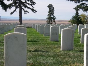At the Battle of Little Bighorn